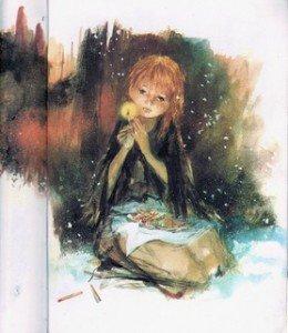 La petite fille aux allumettes dans Méditation fille-260x300