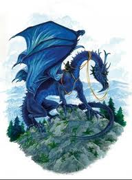 Message du Dragon Bleu dans Mythologie/Légende dragon