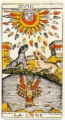 Le Tarot de Marseille dans Tarots et tirages Cartes  jean dodal tarot trump 18-161x300 8fc52e193385