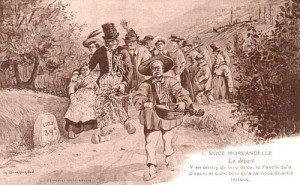 Mariage dans le Morvan dans Traditions en Bourgogne depart-300x185