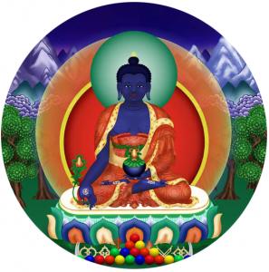 La Lutte entre le Corps et l'Esprit dans Méditation bouddha-medecine-297x300