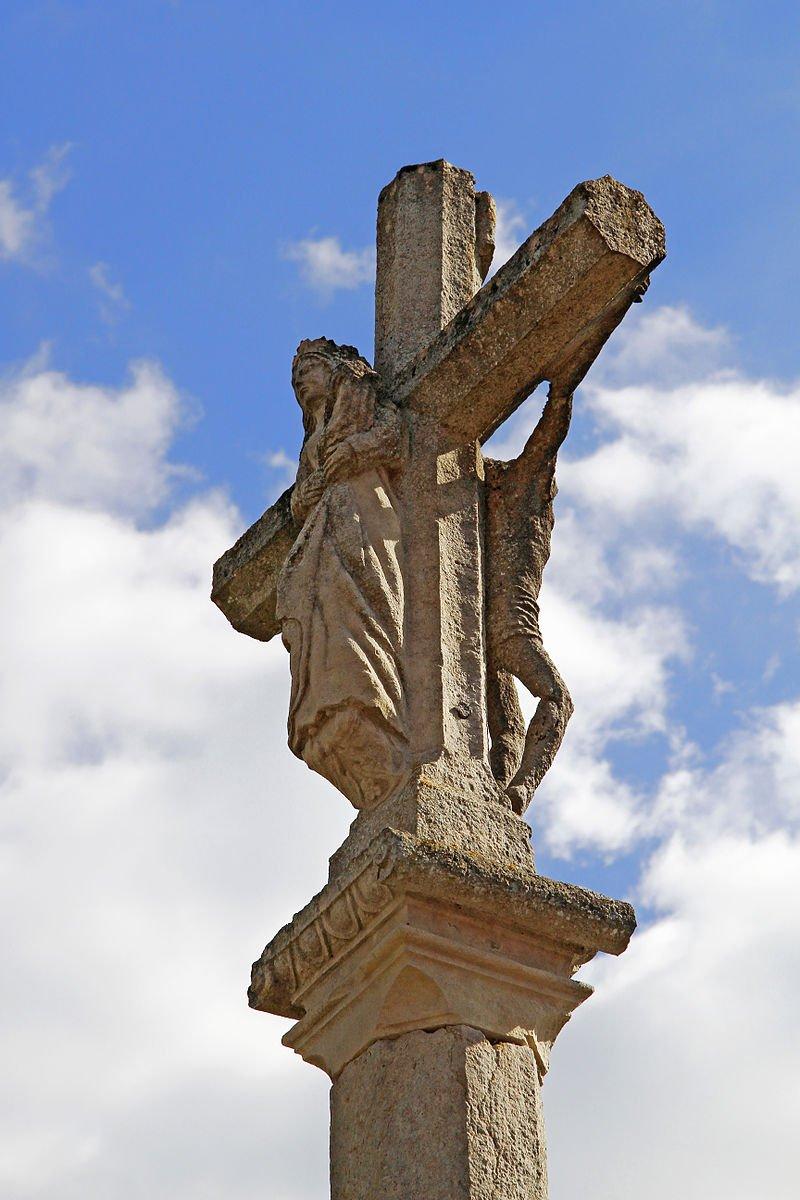 croix au double visage